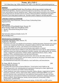 6 Sample Nurse Practitioner Resume Letter Signature