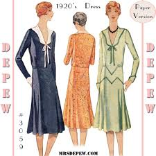 1920 Dress Patterns Interesting Decoration