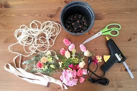 flower chandelier diy fashion blogger girl by style blog heartfelt hunt showing a diy for