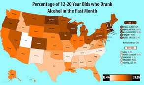 By age 12-20 Prevalence Of Drinking oc Us 5100x3000 Underage State Mapporn