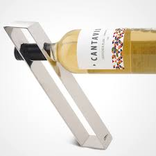 Bar Bottle Display Stand Gravity Suspension Creative Stainless Steel Wine Holders Fashion 44