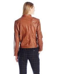 com bernardo women s sheep kerwin leather jacket carmel s clothing