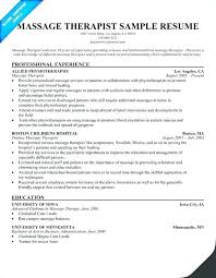 Massage Therapist Resume Examples Awesome Resume For Self Employed Self Employed Resume Examples Best Of