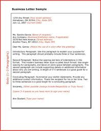 Official Business Letter Format Best Resumes