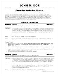 Resume Samples Pdf Fascinating Marketing Executive Resume Sample Letsdeliverco