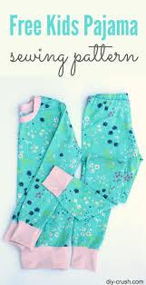 Pajama Patterns Unique Kids Pajama Pattern AllFreeSewing