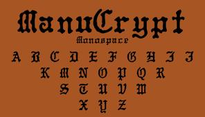black letter font blackletter harolds fonts