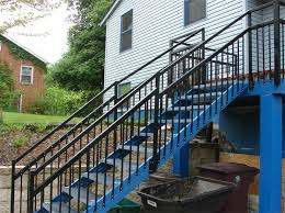 metal handrails for deck stairs. deck stairs metal handrails for
