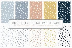 Free black dot cliparts, download free clip art, free clip. Cute Dots Digital Paper Pack Seamlessly Tiling Patterns 137640 Patterns Design Bundles Digital Paper Digital Paper Pack Paper