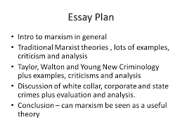 brief summary of marxist explanations of crime capitalism causes  48 essay