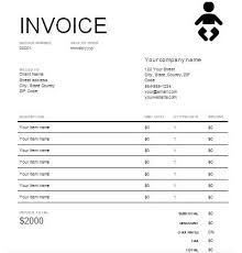 Daycare Receipt Template Excel