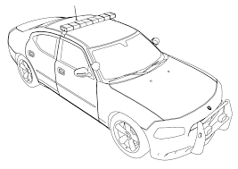 Coloring Pages Of Police Cars Y7183 Police Car Coloring Pages To