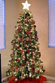 red and gold christmas tree michaels dream tree challenge justaddmichaels