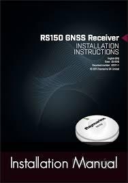 raymarine raystar 150 10hz gps glonass antenna raymarine raystar 150 gps antenna installation instructions