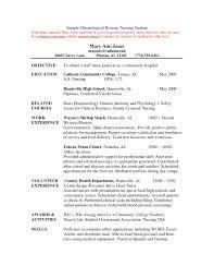 Nurse Resume Sample Experienced Nursing Resume Samples New Resume Sample for Fresh 25