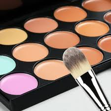 new brand women waterproof makeup foundation multi colors options face foundation makeups puff brush set in foundation from beauty health on