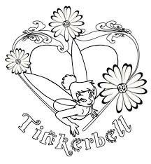 Small Picture I Love Tinkerbell Coloring Page Cartoon Coloring Pages Coloring