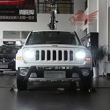 1 pair 35w d2h hid headlight for 2016 2016 jeep patriot headlights led drl xenon lamps in car light assembly from automobiles motorcycles on