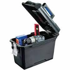 kobalt rolling tool box. image of kobalt zerust® 15.75-in lockable plastic tool box rolling l