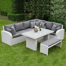 corner dining furniture. Fine Dining Rattan Garden Furniture On Corner Dining Furniture