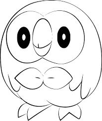 Alola Pokemon Coloring Pages
