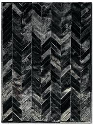 patchwork black cowhide rug yves by pure rugs home decor ideas black cowhide rug small black
