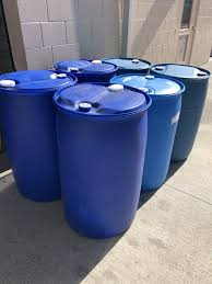 free 55 gallon plastic drum. Interesting Gallon 55 GALLON PLASTIC DRUM CONTAINER  BLUE Free Local Pickup Only 1 Of 2 See  More To Gallon Plastic Drum O