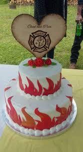 Firefighter Wedding Cake Conception Firefighter Maltese Cross