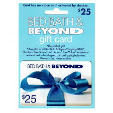 bed bath beyond 25