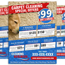 carpet cleaning flyer carpet cleaning flyer design 10 brads carpets
