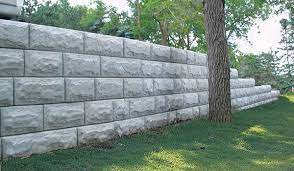 retaining wall systems and hardscapes