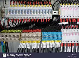 fuse box many cables stock photo 69563746 alamy fuse box many cables