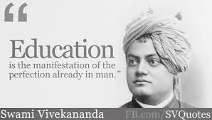 Vivekananda Quotes Best Swami Vivekananda's Quotes On Education SWAMI VIVEKANANDA
