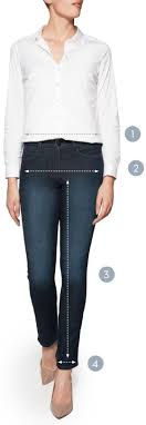 Nydj Size Chart Nydj Size Guide Jeans Trousers