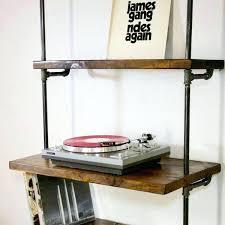 record shelf diy record wall shelf record display shelf ikea