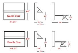 Plans For Murphy Beds Pertaining To Stunning DIY Wall Bed And Ana