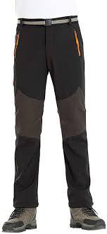 FAXIKIO <b>Mens</b> Waterproof Hiking Pants <b>Durable Breathable Outdoor</b> ...