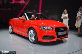 Audi A3 Cabriolet debuts at 2013 Frankfurt Auto Show