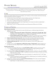 sample resume of hr generalist 12 resume samples for hr