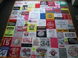 114 best T-Shirt Quilts images on Pinterest | Tee shirt quilts ... & Custom T-shirt Quilt - Queen - No Money Down Adamdwight.com