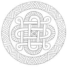 Coloriages Mandala En Toiles Image Imprimer 18 Mandala A