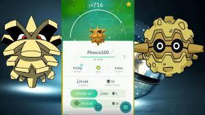 Evolve Pineco Pokemon Go