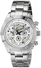 buy stuhrling original mens 487 01 symphony elite automatic buy stuhrling original mens 487 01 symphony elite automatic skeleton multifunction stainless steel watch in cheap price on alibaba com