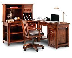 full image for sauder orchard hills computer desk with hutch and file drawer ina oak corner