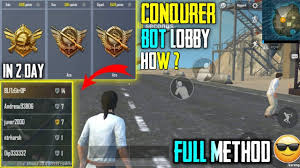 BOT LOBBY IN PUBG MOBILE LITE AFTER BAN ...