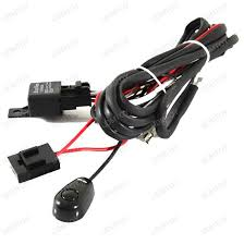 hid conversion kit wire hid relay kit hid relay harness wiring Fog Light Wiring Harness universal relay wiring kit w switch fog light wiring harness kit