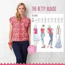 Blouse Sewing Pattern Mesmerizing The Betty Blouse Simply Sewing Magazine