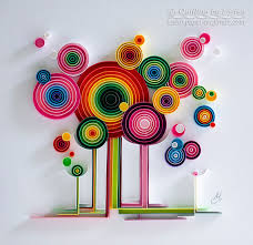 Small Picture Quilling art Quilling wall art Quilling art Paper quilling Art
