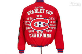 2018 nhl montreal canans stanley cup jacket giii in red from fcyyy 84 17 dhgate com
