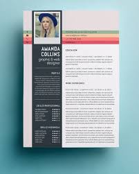 Best Creative Resumes Stunning Creative Resume Design Templates Fieltronet